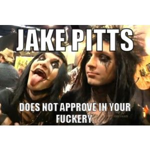 black veil brides memes - Google Search