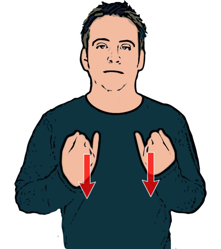 Sick - British Sign Language (BSL)