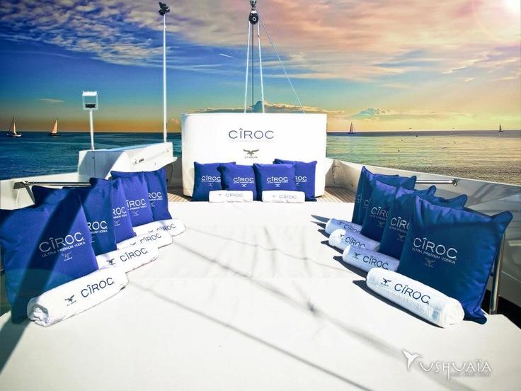 The Honest Group | Cîroc Activation | Ushuaia Ibiza