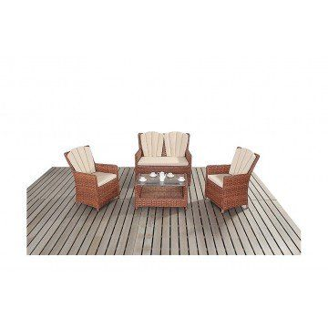Port Royal Platinum Lounge Sofa Set from £499.00 with FREE delivery!