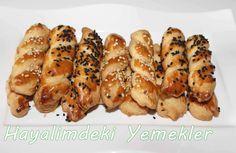 Mahlepli Pastane Kurabiyesi