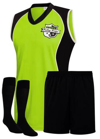 Savannah Women's Soccer Uniform. Available in 9 colors. Available in sizes for youth and adults.