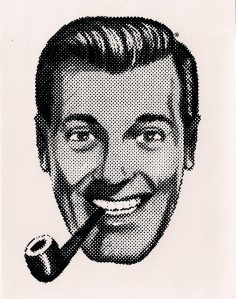 "J. R. ""Bob"" Dobbs, High Epopt of the Church of the SubGenius. The Dobbshead image is ® The Church of the Subgenius, and cannot be used commercially without permission of the trademark owner."