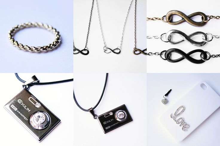 infinity ketting, twist ring, camera ketting, iphone case www.oohlala.nl