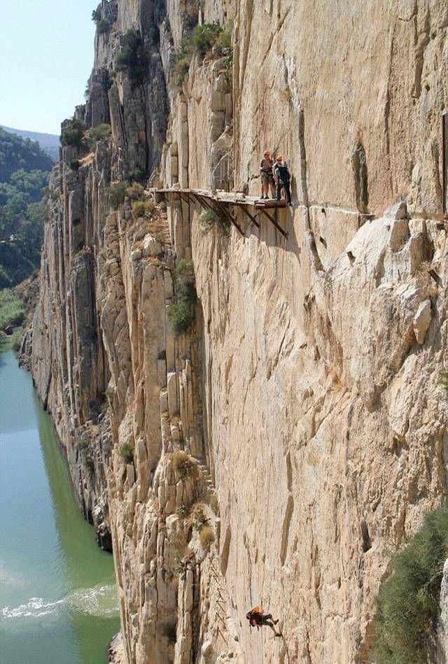 El Camino del Rey in Spain