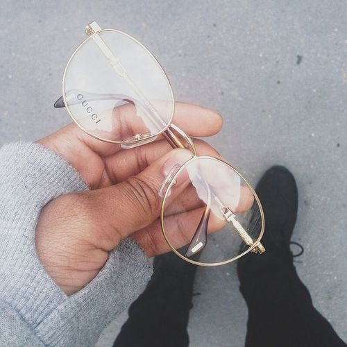 gucci, glasses, and fashion image