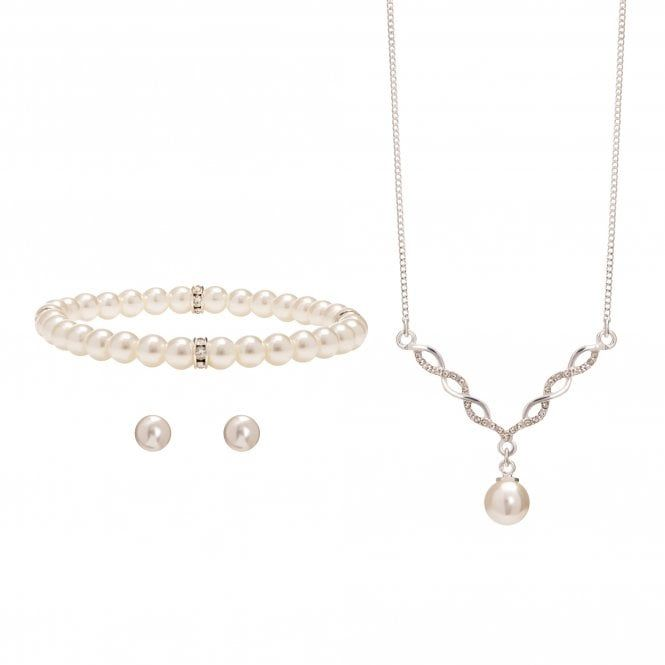 Jon Richard Twist Pearl W Trio Set Gift Boxed Jewellery From Jon Richard Uk Affordable Jewelry Bridesmaid Jewelry Jewelry Design