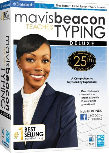 Mavis Beacon Teaches Typing Deluxe - 25th Anniversary Edition SB - Find Me The Cheapest Price	: $14.58