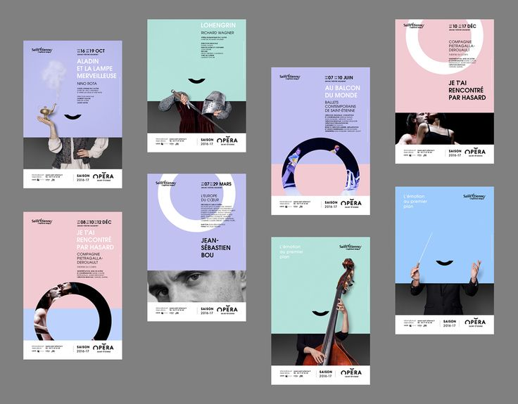 Opéra Saint-Étienne 2016 - Brand Design   Abduzeedo