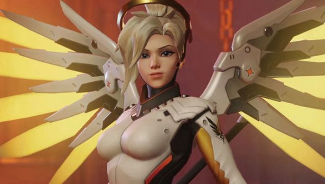 Overwatch 'Shippers Clash Over New Mercy Genji Voice Lines
