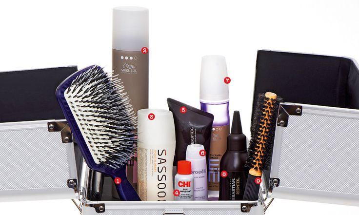Кейс стилиста по волосам: любимые средства и инструменты