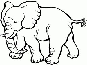 Coloring-Pages-of-Elephants-For-Kids