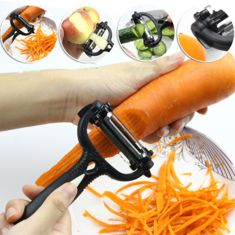 Well-reviewed Multifunction Vegetable Spiralizer Handheld Spiral Cutter Grater Carro Processing Device - NewChic Mobile.