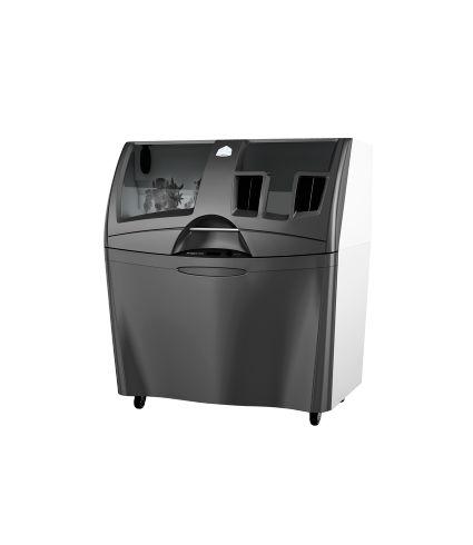 La stampante 3D ProJet 360 per stampe monocromatiche bianche, per laboratori di progettazione, modellazione architettonica e prototipi di medie dimensioni.
