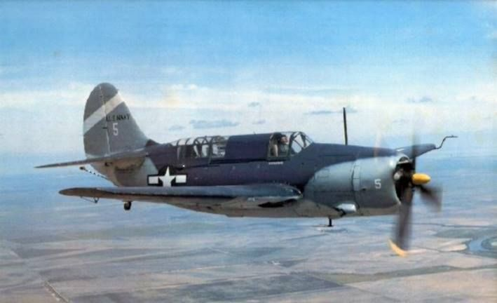 United States Navy Curtiss SB2C Helldiver dive bomber