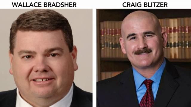 """""""Wallace Bradsher is district attorney for Person and Caswell counties. Craig Blitzer is district attorney for Rockingham County....and triple damages allowed under the state Whistleblower Act.    Bradsher, Blitzer, their wives, District Judge John Hoyte Stultz III, who previously worked as an assistant district attorney in Bradsher's office, and two other staffers in Bradsher's office were named as defendants in the lawsuit."""""""