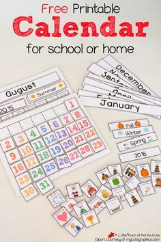 If you are looking for a free calendar for your classroom or home then I have one for you! It comes with a calendar template and all the pieces needed (months, days of the week, years, seasons, days, and holidays) to assemble a cute and colorful calendar to enjoy all school year! Calendar has been …