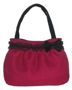 borsa-donna-a-spalla-artigianale-color-mirtillo-Stile-Vintage-Rockabilly