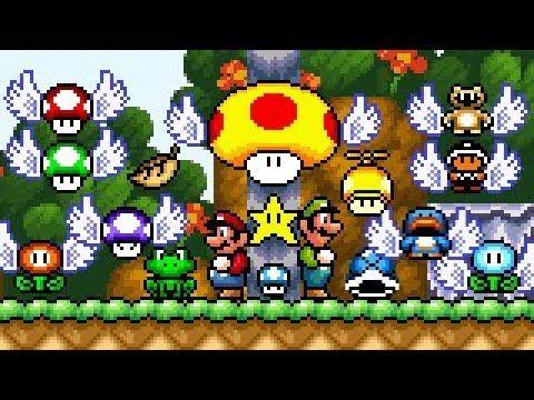 Super Mario Bros X (SMBX 1 4 4) - PowerUps GFX (SMW: Modern Style