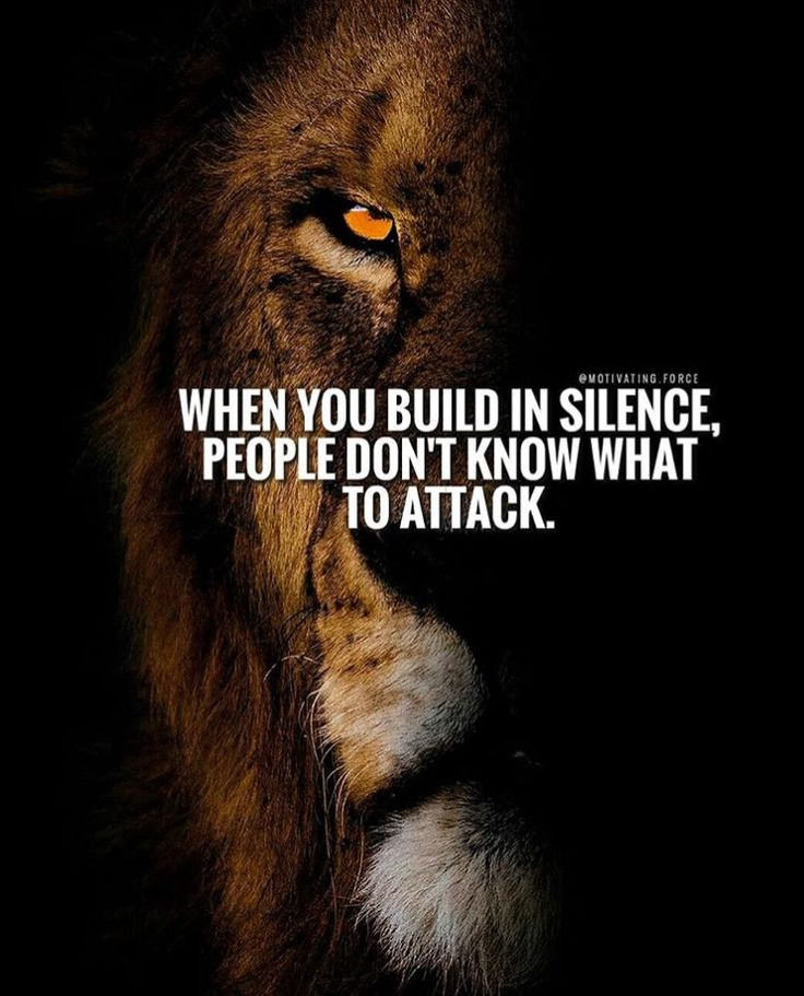 Strength..Lions mInspirational Motivation Quotes
