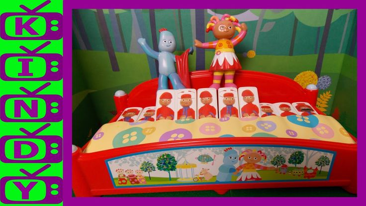 Igglepiggle and Upsy Daisy use The Pontipines Piano. In The Night garden...