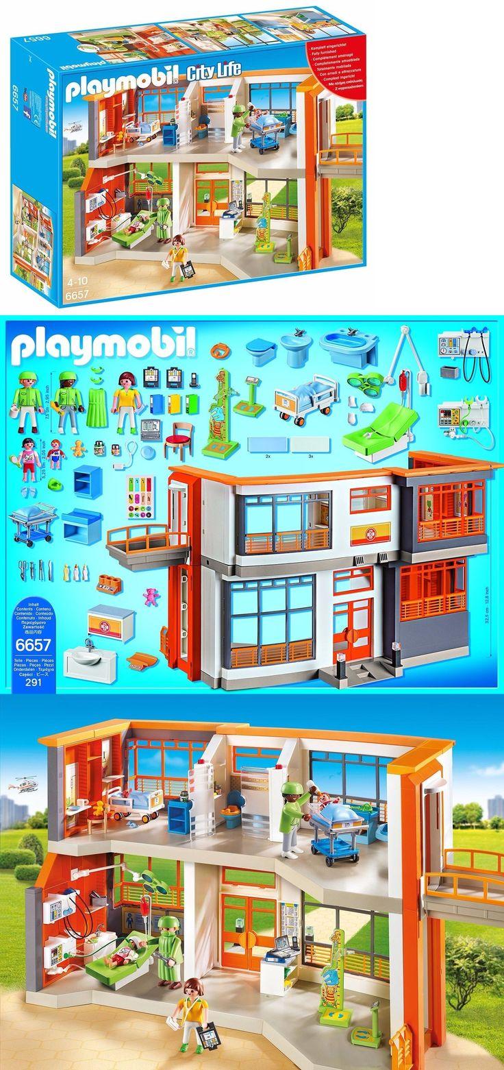 1000 ideaa hopital playmobil pinterestiss playmobyl for Playmobil 6445