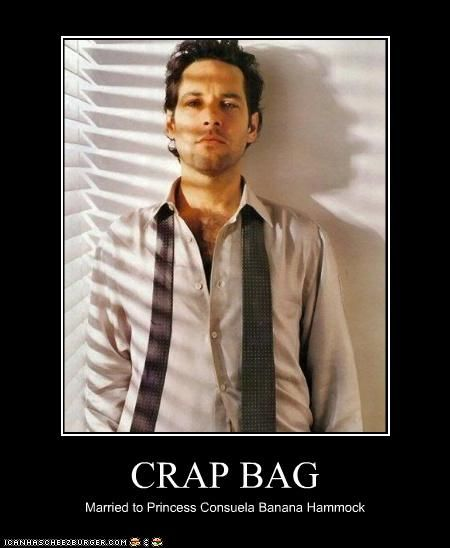 If you have a hard time remembering it, just think of a bag of crap!