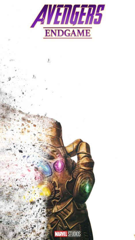 iPhone Wallpaper – Avengers Endgame Thanos Snap iPhone Wallpaper