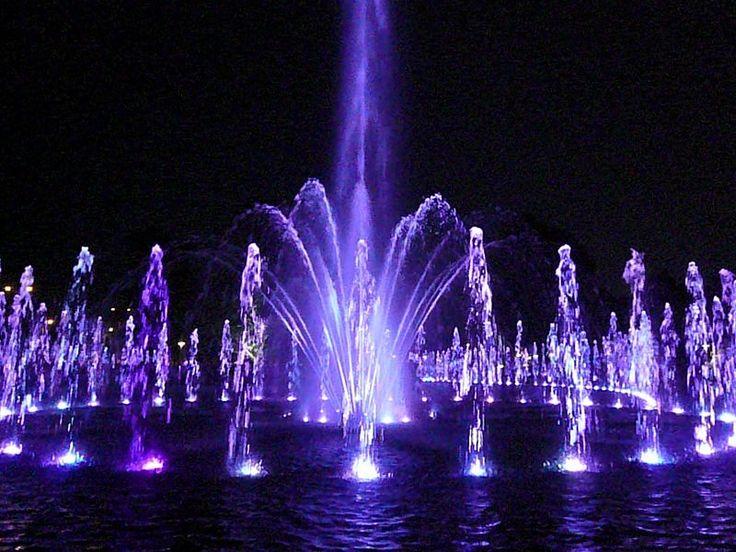 Warsaw Fontanny, Brunnen