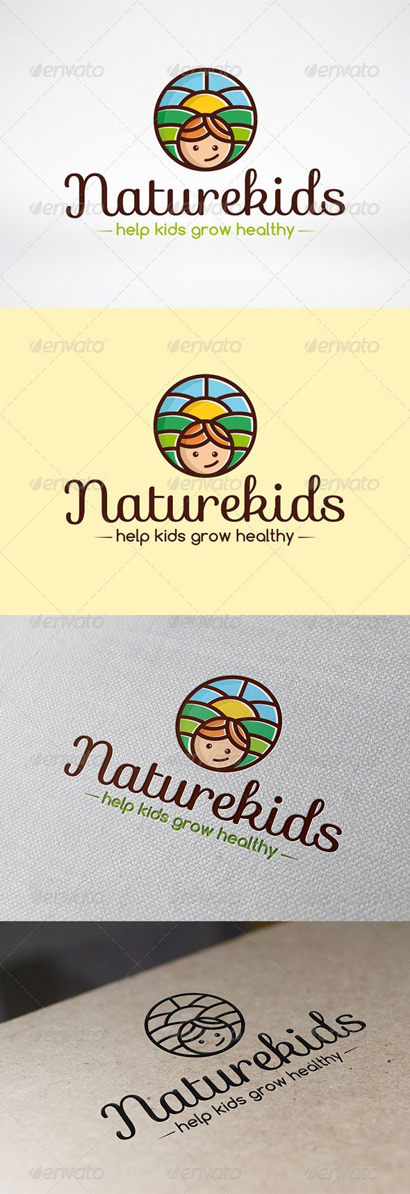 Kindergarten Logo Template - Humans Logo Templates
