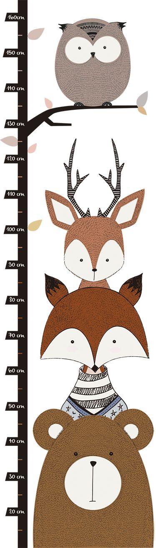 Die besten 25 wandtattoo waldtiere ideen auf pinterest for Wandtattoo kinderzimmer waldtiere