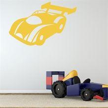 Wallsticker Formel 1 Racerbil