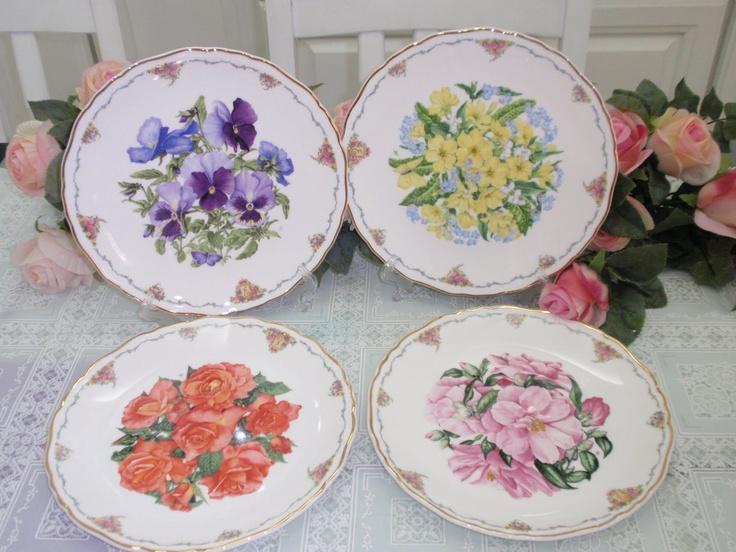 Royal Albert Wall Plate - Favorite Flowers & 77 best