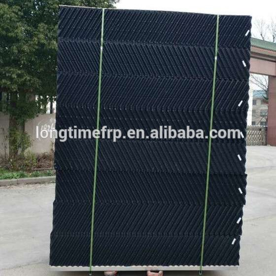 2017 hot sale PVC water cooling tower fill, 19mm sheets distance fill packing for cooling tower