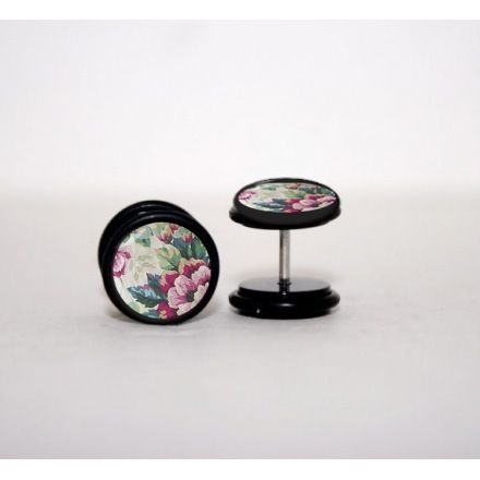 Vintage Wallflower Faux Plugs - $13.00