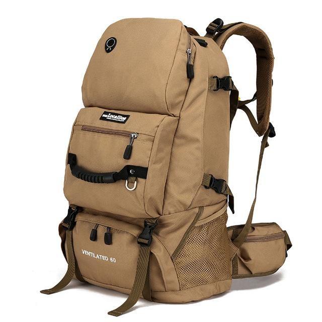 LOCAL LION 60L Outdoor Backpack Unisex Travel Multi-purpose Climbing Backpacks Hiking Big Capacity Rucksacks Camping Sports Bags