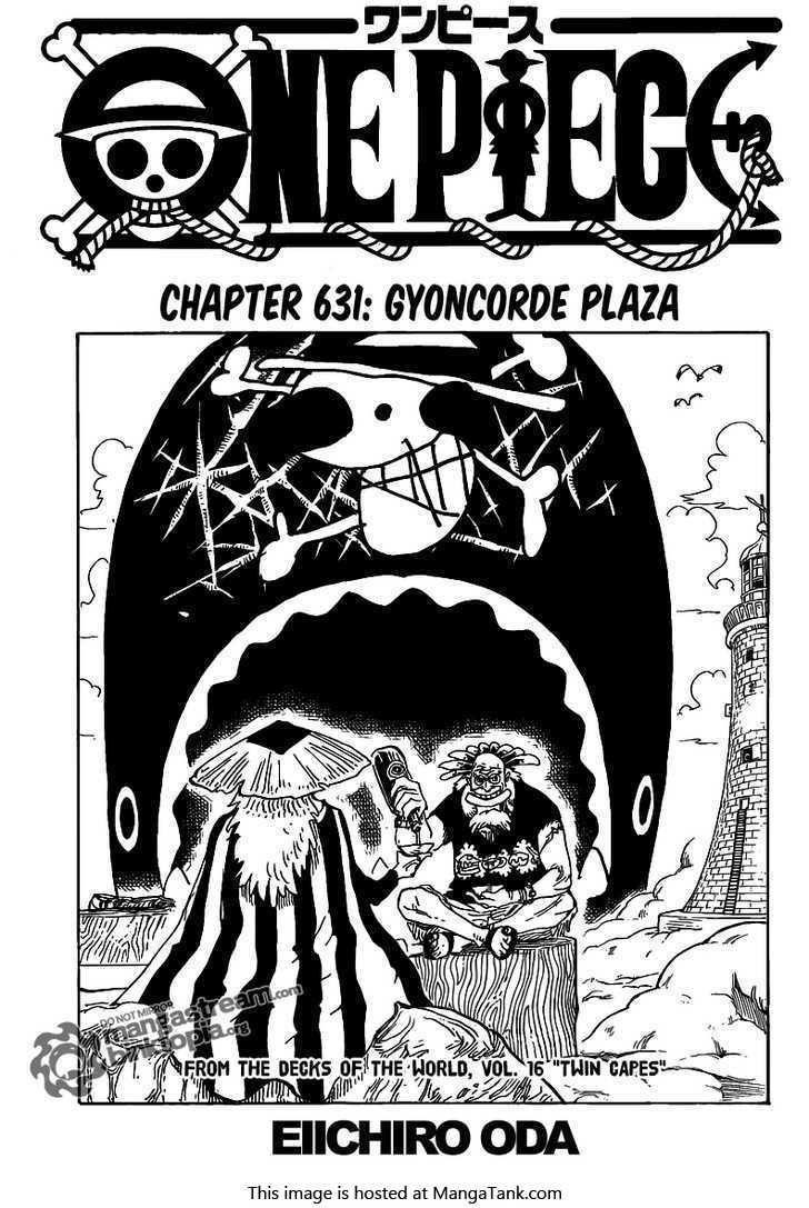e Piece Manga ch 631 Page 1