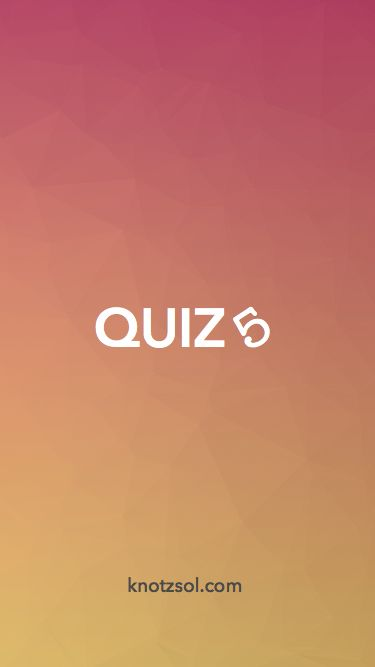 a good quiz app with good UI splash screen check out this app
