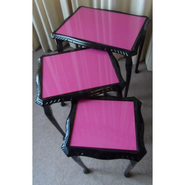 upcycled furniture | Upcycled Nest of Tables... love these!