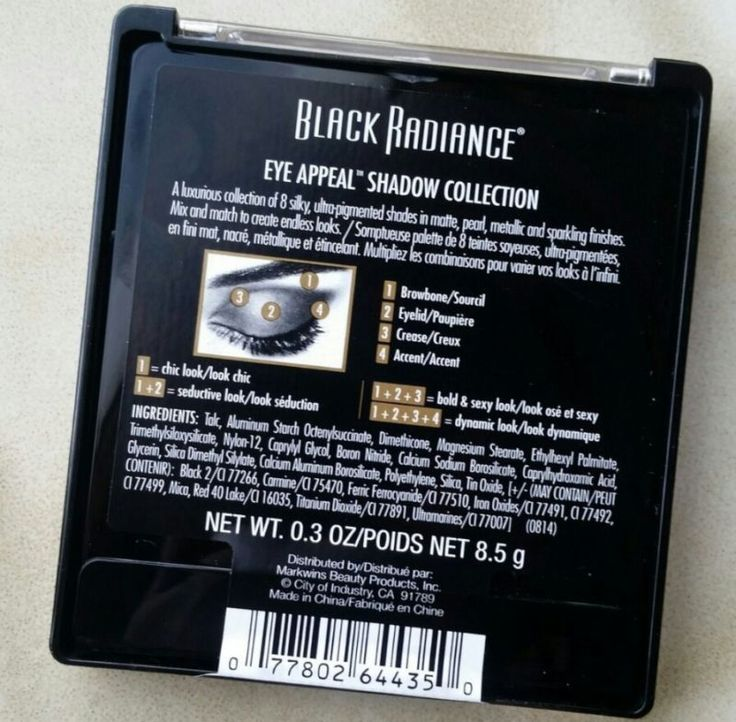Black Radiance Downtown Browns 8 shadow palette