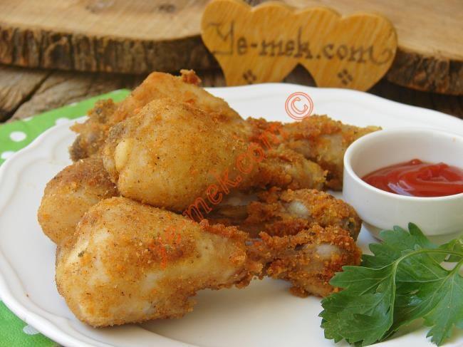 Tarhanalı Çıtır Tavuk Baget Resimli Tarifi - Yemek Tarifleri