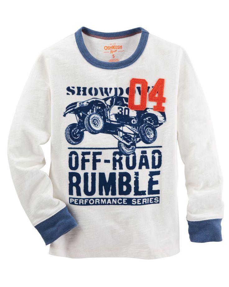Kid Boy Off-Road Ringer Tee | OshKosh.com