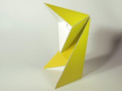 Lámparas de Mesa Plegables, Accesorios Inspirados en el Origami 1