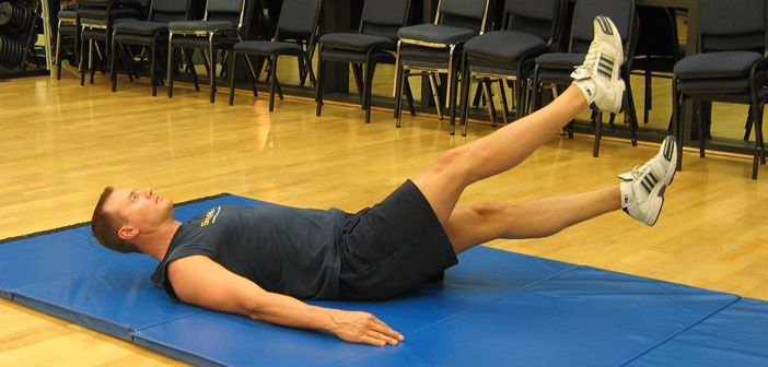 Abdominal flutter kicks are a common exercise you see in the military because…