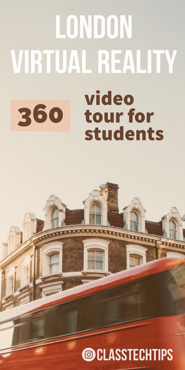 There are a fantastic series of videos from The Telegraph, perfect for taking students on a virtual reality tour of London. With these resources students can explore a range of places and hear stories from different spots in the United Kingdom. virtual reality in education, virtual reality in the classroom, educational vr apps, virtual reality education