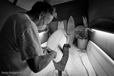 Surf Board Shaper Mike Geib