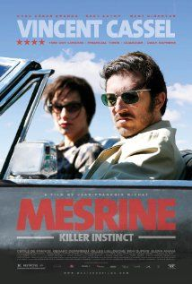I watched this again recently - French homework!  Mesrine: Killer Instinct (2008)