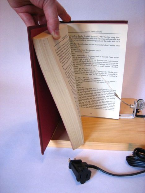 How to make a book on the bookshelf a secret Switch. - just in case we ever decide to build a secret room.