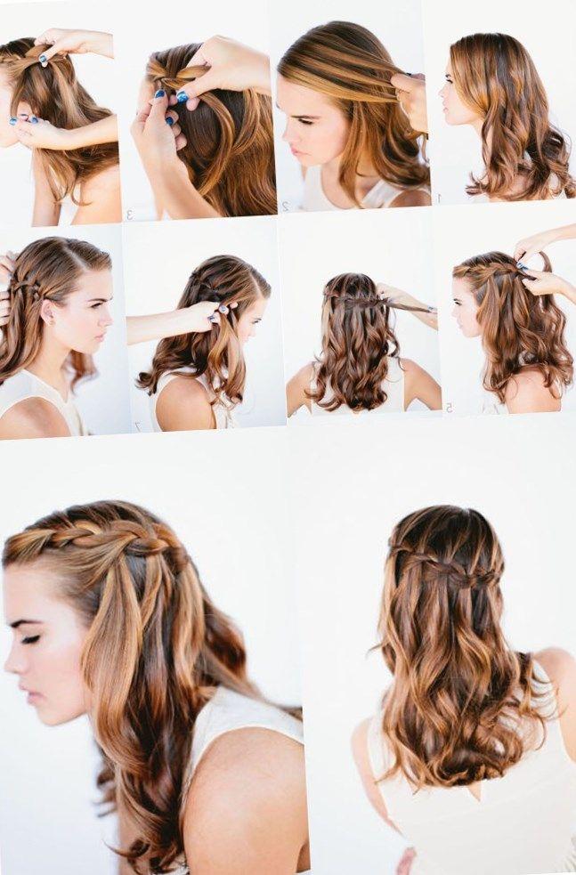 Видео прически своими руками - http://popricheskam.ru/129-video-pricheski-svoimi-rukami.html. #прически #стрижки #тренды2017 #мода #волосы