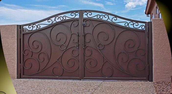 southwest iron gate designs | Articles & Safety Tips